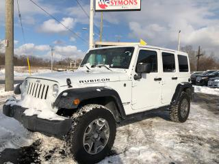 Used 2018 Jeep Wrangler RUBICON for sale in Cobourg, ON