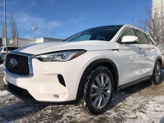 New 2019 Infiniti QX50 LUXE 4dr AWD Sport Utility for sale in Edmonton, AB