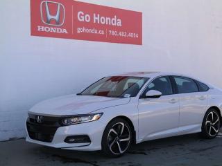 New 2019 Honda Accord Sedan Sport for sale in Edmonton, AB