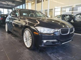 Used 2014 BMW 3 Series XDRIVE, HEATED SEATS, NAVI, SUNROOF, REAR VIEW CAMERA for sale in Edmonton, AB