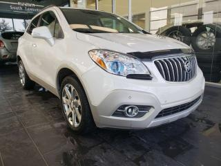 Used 2014 Buick Encore PREMIUM, HEATED STEERING, SUNROOF, REAR VIEW CAMERA for sale in Edmonton, AB