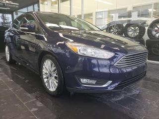 Used 2016 Ford Focus TITANIUM, SUNROOF, NAVI, HEATED SEATS for sale in Edmonton, AB