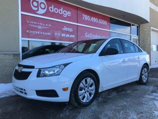 Used 2013 Chevrolet Cruze LS GREAT ON FUEL! for sale in Edmonton, AB