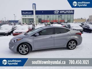 Used 2016 Hyundai Elantra SPORT/SUNROOF/BACKUP CAM/HEATED SEATS for sale in Edmonton, AB