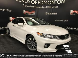 Used 2015 Honda Accord COUPE EX for sale in Edmonton, AB
