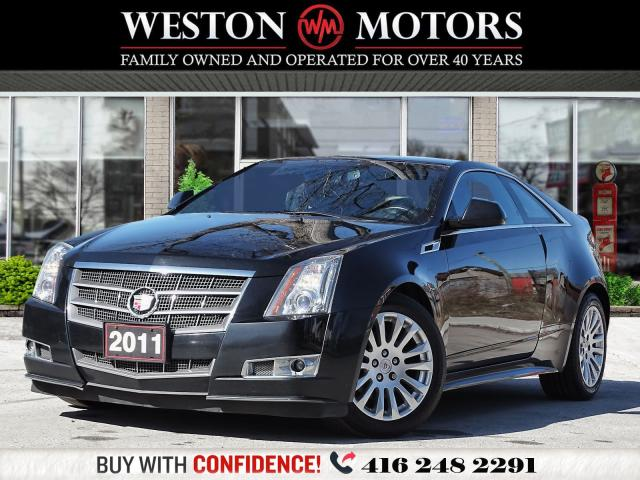 2011 Cadillac CTS CTS4*COUPE*AWD*POWER GROUP*BLUETOOTH*LEATHER!!*