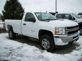 Used 2014 Chevrolet Silverado 2500 WT for sale in Stratford, ON