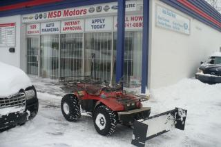 Used 1988 Suzuki LT-R450 LT-250 QUAD RUNNER WITH SNOW PLOW for sale in Toronto, ON