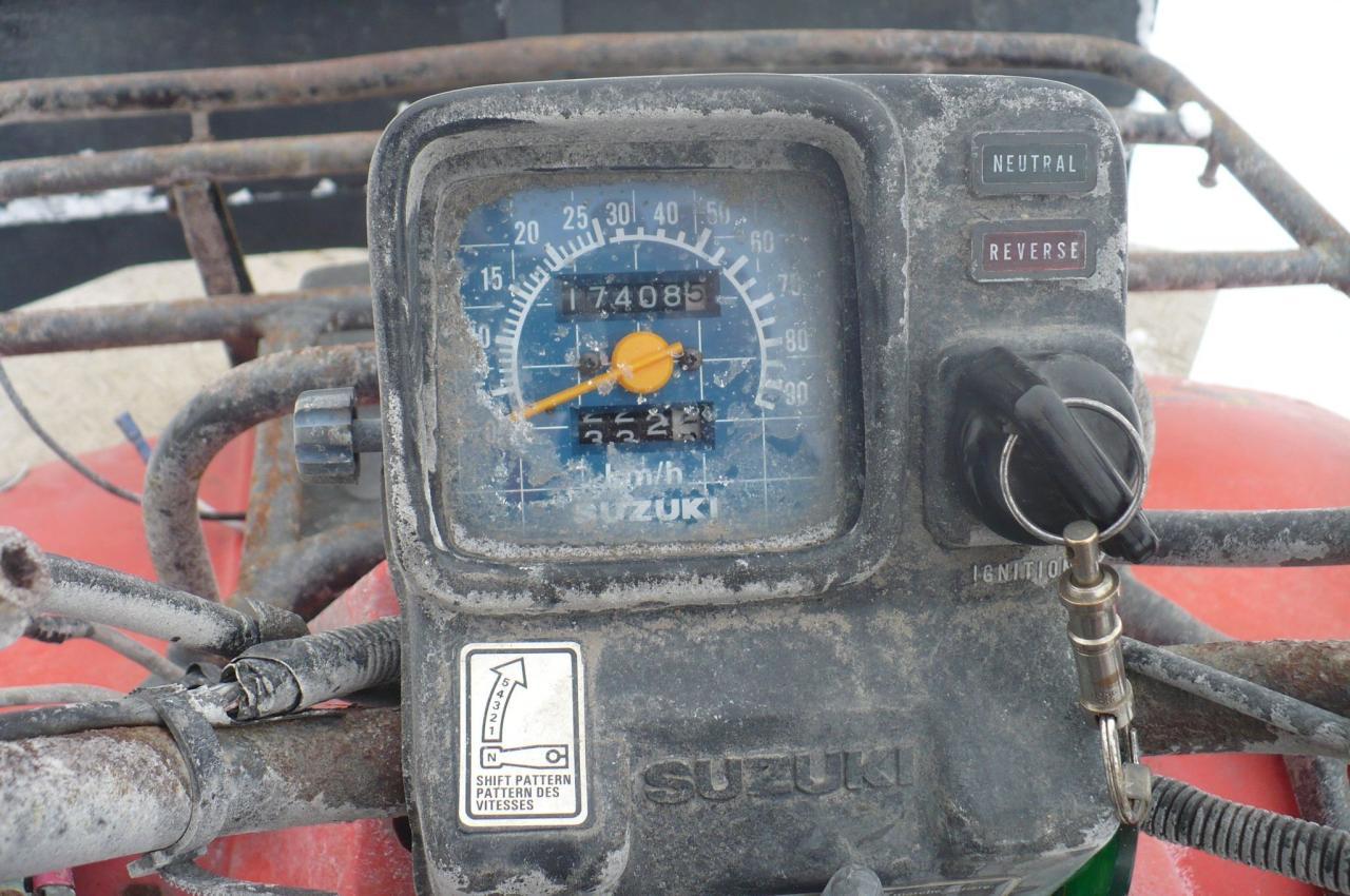 1988 Suzuki LT-R450