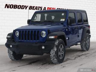 New 2019 Jeep Wrangler Unlimited Sport S for sale in Mississauga, ON