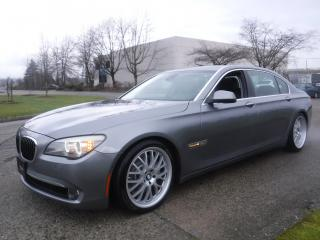 Used 2011 BMW 7 Series 750Li xDrive for sale in Burnaby, BC