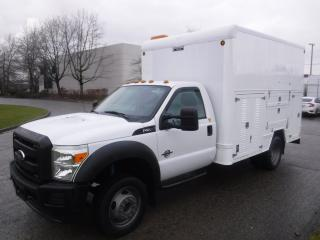 Used 2012 Ford F-550 Regular Cab Dually 2WD Diesel Service Box for sale in Burnaby, BC