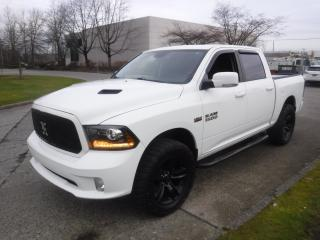 Used 2013 Dodge Ram 1500 Sport Crew Cab Short Box 4WD for sale in Burnaby, BC