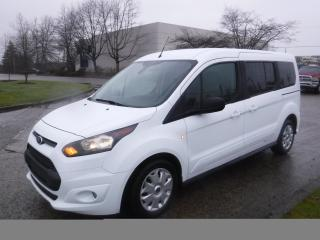 Used 2015 Ford Transit Connect Wagon XLT w/Rear Liftgate 3rd Row Seating for sale in Burnaby, BC