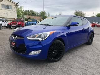 Used 2014 Hyundai Veloster Tech Navigation Panorama Roof Cloth/Leather for sale in St Catharines, ON