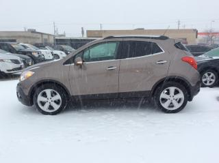 Used 2015 Buick Encore Leather BACK UP CAMERA BLIND SPOT MONITOR for sale in St Catharines, ON