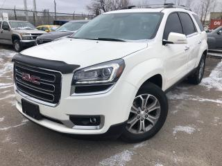 Used 2015 GMC Acadia SLT1 Leather Navigation Sunroof Back Up Camera for sale in St Catharines, ON
