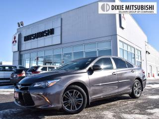 Used 2015 Toyota Camry SE SPORT | BACK-UP CAM | BLUETOOTH | RED STITCHING for sale in Mississauga, ON