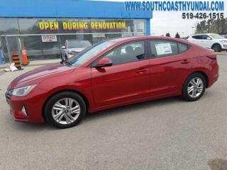 New 2019 Hyundai Elantra Preferred w/sun and safety pkg  - $128.19 B/W for sale in Simcoe, ON