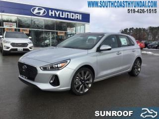 New 2018 Hyundai Elantra GT Sport DCT  - Leather Seats - $153.44 B/W for sale in Simcoe, ON