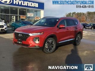 New 2019 Hyundai Santa Fe 2.0T Ultimate AWD  - Leather Seats - $263.40 B/W for sale in Simcoe, ON
