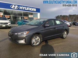 New 2019 Hyundai Elantra Preferred  AT  - Back Up Camera - $131.49 B/W for sale in Simcoe, ON