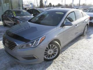 Used 2015 Hyundai Sonata LTD NAVIGATION,CUIR for sale in Blainville, QC