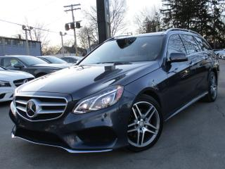Used 2015 Mercedes-Benz E-Class E400 4MATIC~WAGON~NAVIGATION~PANORAMA~20KMS !!! for sale in Burlington, ON