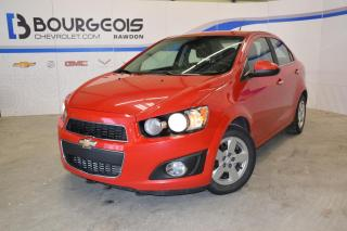 Used 2012 Chevrolet Sonic Lt, A/c for sale in Rawdon, QC