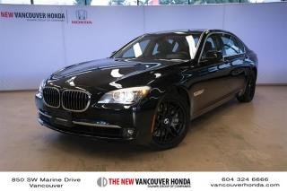 Used 2012 BMW 750Li xDrive for sale in Vancouver, BC