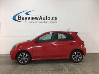 Used 2015 Nissan Micra SR - BLUETOOTH! REVERSE CAM! A/C! CRUISE! PWR GROUP! ALLOYS! for sale in Belleville, ON