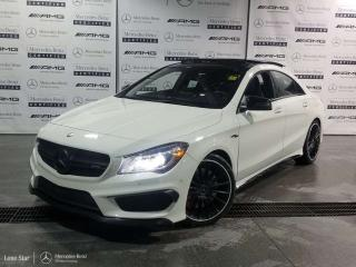 Used 2015 Mercedes-Benz CLA-Class CLA45 AMG 4MATIC Coupe for sale in Calgary, AB