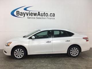 Used 2015 Nissan Sentra 1.8 S - BLUETOOTH! CRUISE! A/C! PWR GROUP! for sale in Belleville, ON