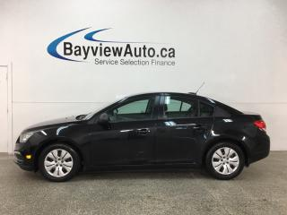 Used 2015 Chevrolet Cruze 2LS - 6SPD! ONSTAR! A/C! PWR GROUP! for sale in Belleville, ON