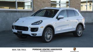 Used 2018 Porsche Cayenne S w/ Tip | PORSCHE CERTIFIED for sale in Vancouver, BC