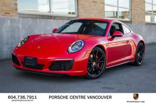 Used 2018 Porsche 911 Carrera 4S Coupe PDK | PORSCHE CERTIFIED for sale in Vancouver, BC