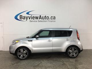 Used 2015 Kia Soul SX - HTD/COOLED LTHR! BLUETOOTH! PANOROOF! INFINITY SOUND! ALLOYS! for sale in Belleville, ON