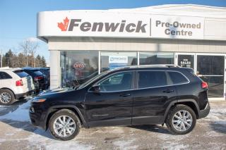Used 2016 Jeep Cherokee 4X4 LIMITED for sale in Sarnia, ON