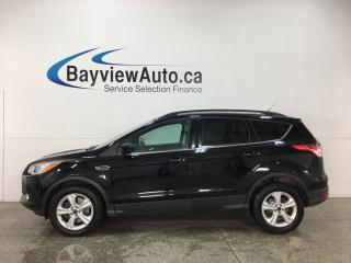 Used 2016 Ford Escape - 4WD! SYNC! ECOBOOST! HITCH! HTD SEATS! ALLOSY! KEYPAD! for sale in Belleville, ON