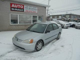 Used 2002 Honda Civic DX for sale in St-Hubert, QC