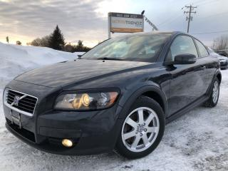 Used 2009 Volvo C30 2.4i Heated Seats, Auto, Air, Cruise with Pwr Seat and Windows! Nice with Alloys, Fog Lights and Keyless for sale in Kemptville, ON