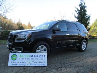 Used 2016 GMC Acadia SLE-2 AWD MOONROOF, INSP, WARR BCAA MBSHP for sale in Surrey, BC