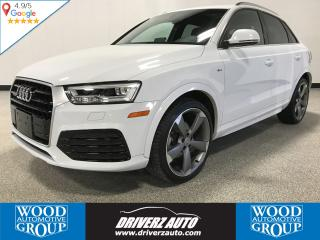 Used 2016 Audi Q3 2.0T Technik QUATTRO AWD, PANORAMIC SUNROOF, NAVIGATION for sale in Calgary, AB