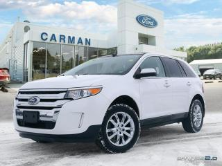 Used 2013 Ford Edge Limited for sale in Carman, MB