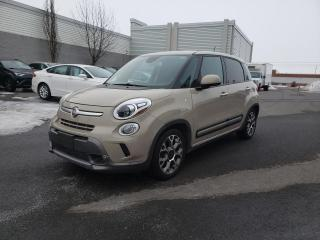 Used 2014 Fiat 500 L Trekking for sale in Drummondville, QC