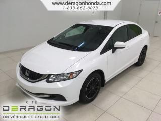 Used 2015 Honda Civic Lx+roues En for sale in Cowansville, QC
