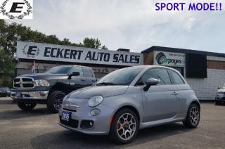 Used 2015 Fiat 500 Sport/BLUETOOTH/FUEL MISER! for sale in Barrie, ON