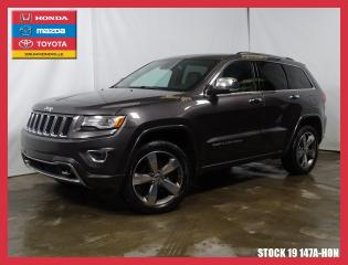 Used 2015 Jeep Grand Cherokee Overland+cuir+toit for sale in Drummondville, QC