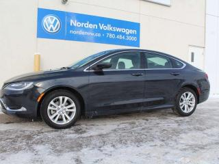 Used 2016 Chrysler 200 LIMITED - LEATHER / SUNROOF for sale in Edmonton, AB