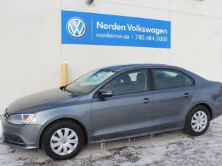Used 2016 Volkswagen Jetta Sedan 1.4 TURBO - TRENDLINE + - VW CERTIFIED / HEATED SEATS / BACKUP CAMERA for sale in Edmonton, AB